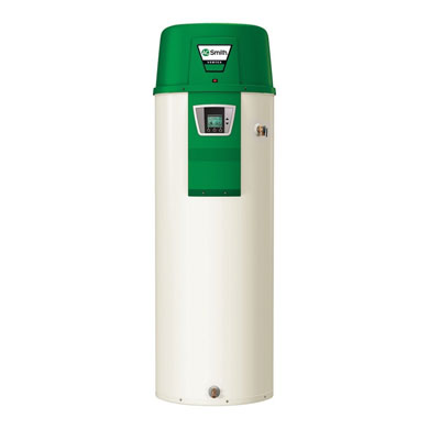 Heat Pump Water Heaters use the air around it to heat the water!
