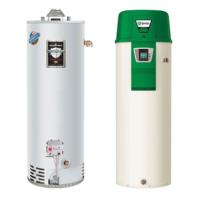 Traditional & Heat Pump Tank Water Heaters are an economical choice for smaller homes.