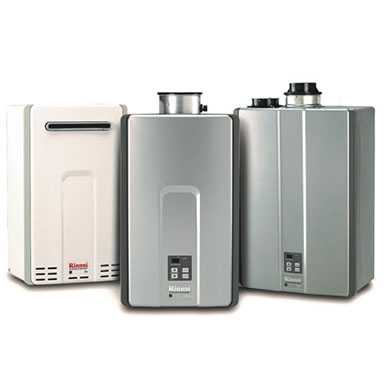 Rinnai's tankless water heaters are incredibly efficient and long lasting water heating systems.